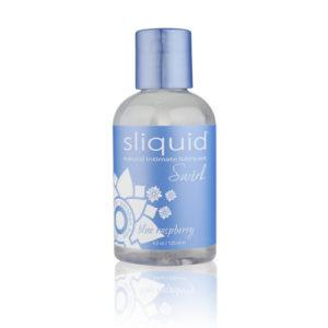 Sliquid Naturals Swirl Flavoured Lubricants-Blue Raspberry