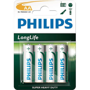 4 Pack AA Size Batteries