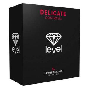 Level Delicate Condoms 5 Pack