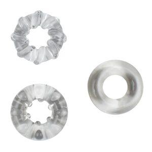 JoyRings Enhancement Cock Ring Set (3 Pack)